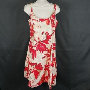 R&K floral dress size 8